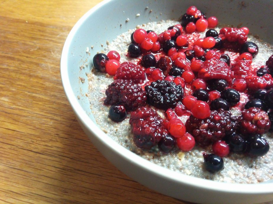 Healthy Chia & Oat Pudding